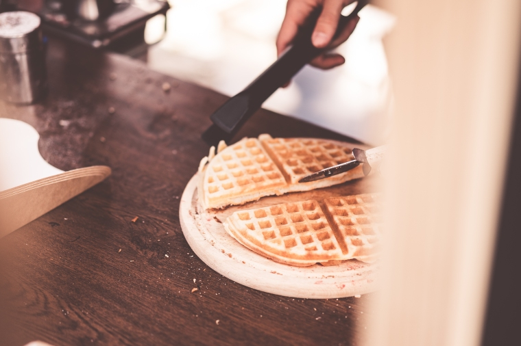 making-waffles-cutting-them-into-pieces-picjumbo-com